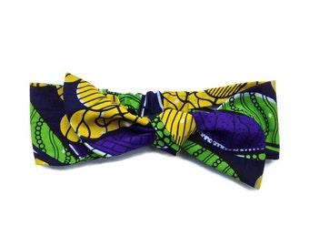 headband to tie turban wax, african fabric, African wax, headwrap, African fabric turban, headband wax, hairband, made in france