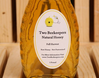 Two Beekeepers Raw Fall Honey