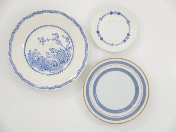 decorative plates kitchen wall decor shabby by