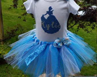 Cinderella Personalized Tutu Set