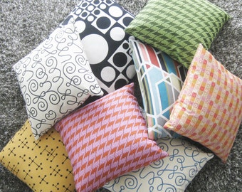 Maharam Pillow Cover -  Names by Alexander Girard - 17x17 or custom