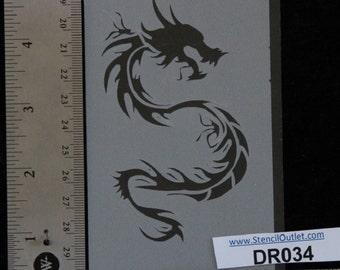"Dragon Stencil -  3"" x 5"", 7 mil - DR034"