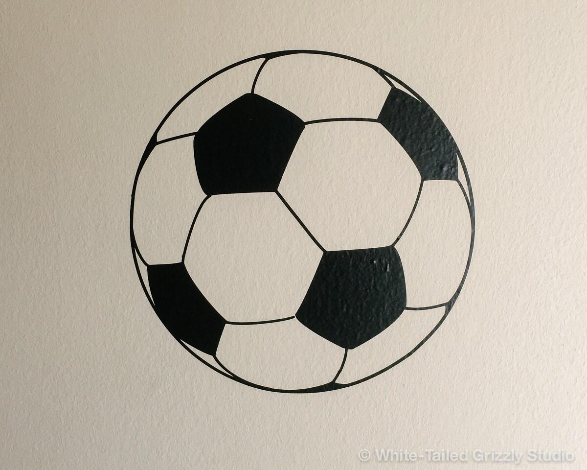 Soccer Ball Vinyl Wall Decal Wall Sticker Home Decor
