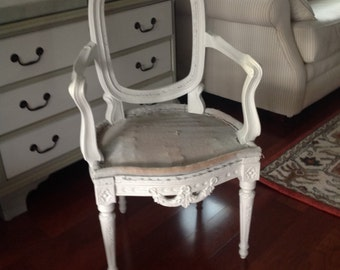 Louis XVI antique chair