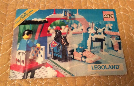 SAVE 25% WITH CODE: SAVE25 Vintage 1988 Lego Legoland Advertisement Advertising Booklet