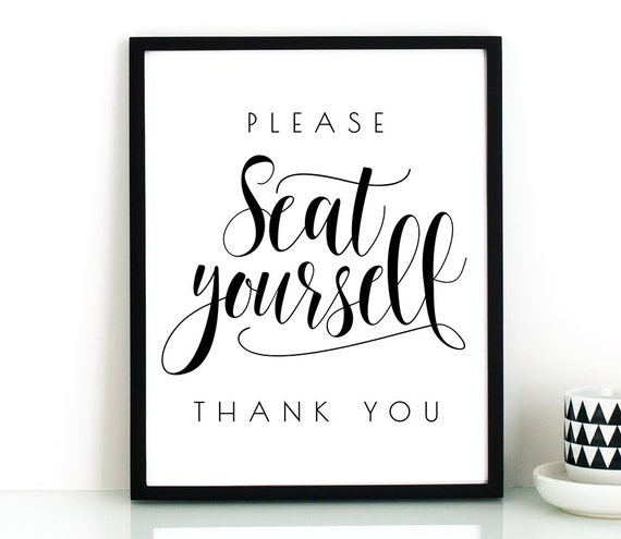 Funny bathroom wall art printableplease seat by thecrownprints for Bathroom decor printables
