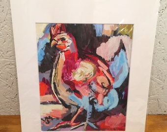 """Let's Tango: 8"""" x 10"""" giclée print of my original painting"""