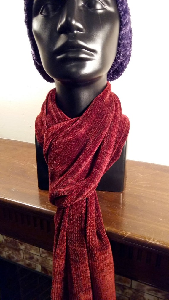 California Redwood -- Chenille Scarf