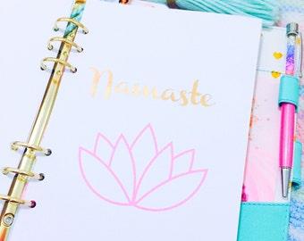 030 - Namaste lotus planner dashboard
