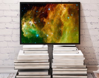 Orion Nebula poster Universe decor Galaxy print