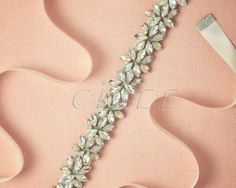 Ivory Belt Sash, Wedding Belt, Bridal Belt, Dress Belt, Gown Belt, Wedding Sash, Bridal Sash, Dress Sash, Gown Sash, Handmade Belt YD1627