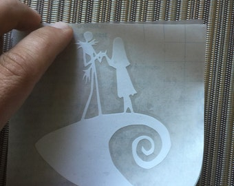 Nightmare before christmas laptop decal