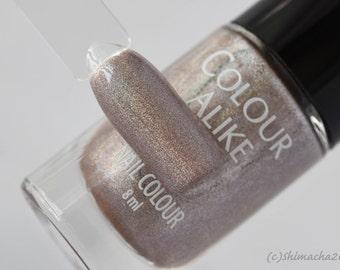 Footprints - holographic nail polish