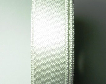 30 meters Satin ribbon 13mm White