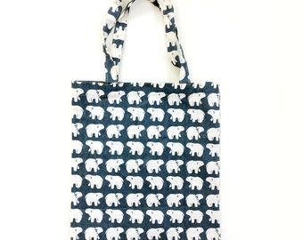 Animal Patterned Eco Bag, Canvas Bag,  School Bag, Market bag, Daily bag, Animal Pattern, Cute Tote Bag, Eco Bag, Cute Animal  Bag