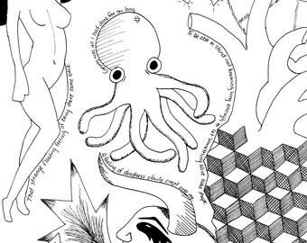 Introspective Mind Art Print