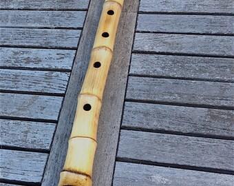 Hotchiku Shakuhachi 2.5 Japanese Madake Bamboo Flute G/G#
