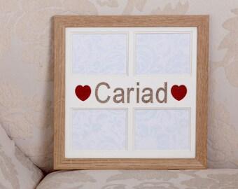 Ffrâm Cymraeg Cariad (Welsh 'Love' frame)