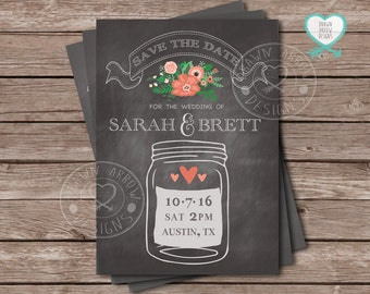Dusty Jar Save the Date
