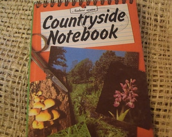 Ladybird Nature Series. Countryside Notebook. Children's book.