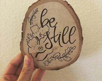 custom-small wood slice