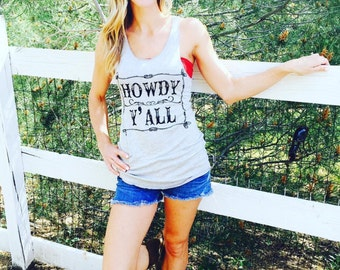 Howdy Y'all Tank Top