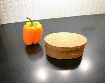 Cherry Shaker Style Oval Box