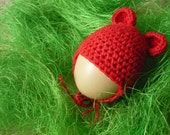 Eggs warmers - cap with small ears, kawaii egg cosies, table decorations