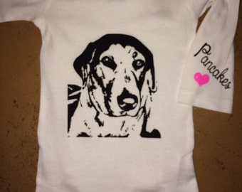 "Personalized ""Pet"" Onesie/T-shirt"