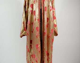 1940s Gold Lame Robe