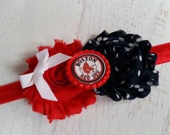 Boston Red Sox mlb elastic headband baby - toddler - adult