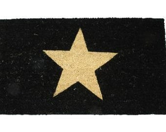Doormat coconut fiber Star