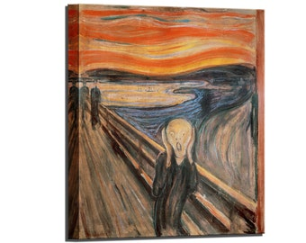 The Scream Edvard Munch Wall Decor Canvas Art Canvas Print Home Decor Canvas Wall Art Print Ready to Hang Wall Decor