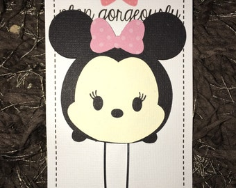 Minnie Inspired Paper Clip