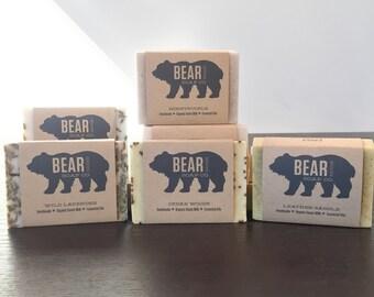 Bear Soap - Handmade/Organic