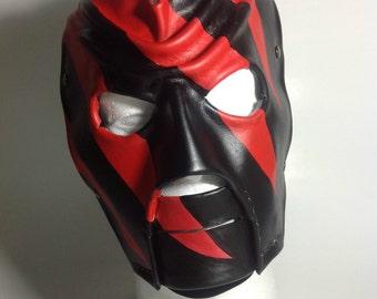 Leather Kane Mask Replica 1997-2000 Version 2 Halloween
