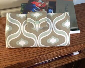 Trifold Wallet, Clutch, Billfold, Ladies' wallet, Women's wallet