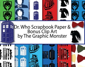 """Shop """"dr. who"""" in Craft Supplies & Tools"""