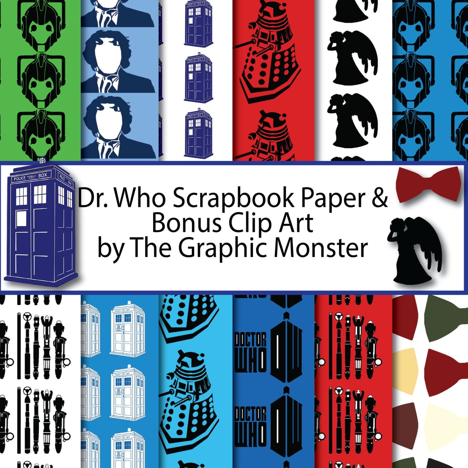 It's just an image of Eloquent Doctor Who Paper