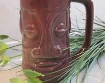 TIKI MUG Vintage Tiki Ceramic Mug Made In Japan--Vintage Street Sale-