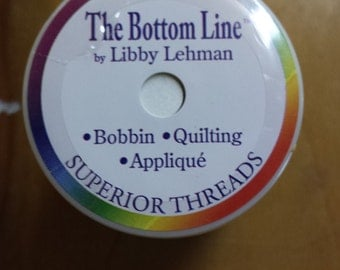 "Superior Threads ""The Bottom Line""  60wt Polyester Quilting Thread"