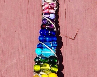 Rainbow Slotted Serving Spoon