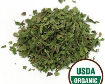 Spearmint Leaf C/S, Organic 1 Pound (lb) 16 oz