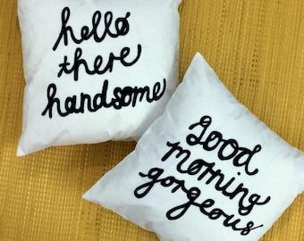 Good Morning Pillow Set