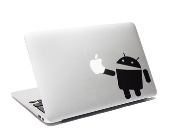 Android MacBook Decal
