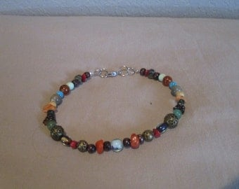 Autumn Colour Anklet