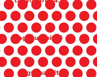 New Pricing and Packaging Red Polka Dots