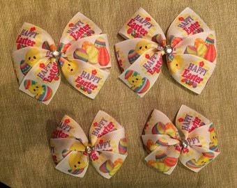 Easter Hair Bows