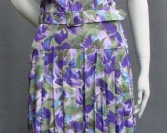 Vintage 1970s/70s Floral DRESS Radley
