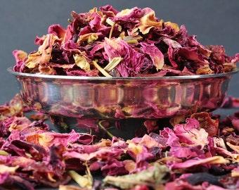 Rose Passion Tea  - Rose Tea - Herbal Tea - Caffeine Free Tea - Loose Leaf Tea - Tea - Tea Gift